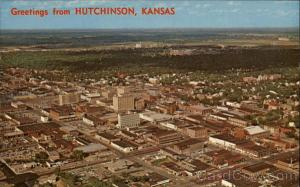 Aerial View of the City Hutchinson